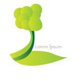 Isolated nature logo Royalty Free Stock Photography