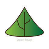 Isolated nature logo Royalty Free Stock Images