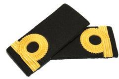 Isolated Navy epaulet Royalty Free Stock Photo