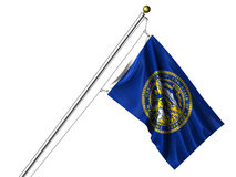 Isolated Nebraska Flag Stock Photos