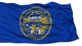 Isolated Nebraska Flag, USA state Royalty Free Stock Photography