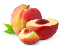 Free Isolated Nectarine Peaches Stock Photography - 15912472