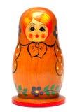 Isolated nested doll. Isolated nested doll on white background Stock Image