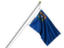 Isolated Nevada Flag Stock Photos