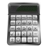 Isolated new modern mathematical calculator  Stock Photo
