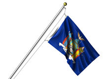 Isolated New York Flag Royalty Free Stock Image