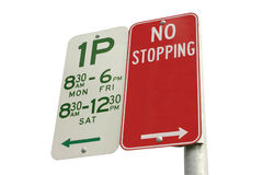 Isolated no stopping royalty free stock photo