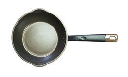 Isolated non stick pan Royalty Free Stock Photos