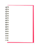 Isolated notebook royalty free stock images