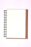 Isolated notebook Royalty Free Stock Image