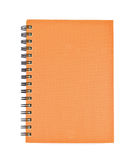 Isolated notebook on white. royalty free stock photo