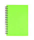 Isolated notebook on white Royalty Free Stock Images