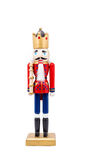 Isolated Nutcracker On Whtie Background Royalty Free Stock Photos