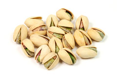 Isolated nuts Stock Photo