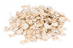 Isolated Oatmeal Royalty Free Stock Photos