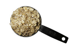 Isolated oatmeal scoop Stock Photos