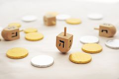 Isolated Obejects for Hanukkah Stock Photo
