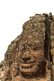 Isolated Object - Smiling Face Tower in Bayon Temple Royalty Free Stock Photography
