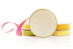Isolated Objects: Ribbons For Craft Projects. Royalty Free Stock Photo