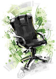 Isolated Office Chair Stock Photos