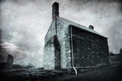 Isolated Old Building royalty free stock images