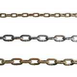 Isolated old chains Stock Images