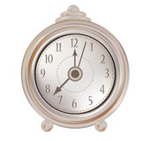 Isolated old clock Royalty Free Stock Photo