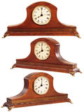 Isolated old-fashioned clock Royalty Free Stock Photography