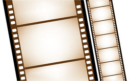 Isolated old filmstrip in vector Royalty Free Stock Photography