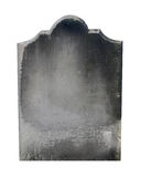 Isolated old gravestone Stock Images