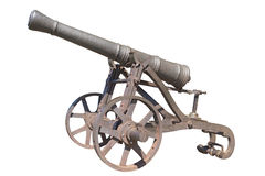 Isolated old gun Royalty Free Stock Image