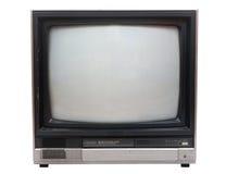 isolated old over set studio tv very white Στοκ εικόνα με δικαίωμα ελεύθερης χρήσης