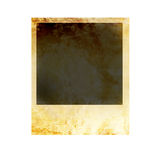 Isolated old polaroid Stock Photos