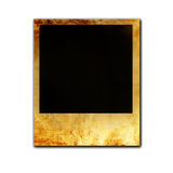 Isolated old polaroid Royalty Free Stock Photo