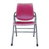 Isolated the old red chair overwhite backgroung - clipping path Stock Photos