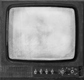 The isolated old retro TV Royalty Free Stock Photo