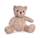 Isolated old teddy bear Stock Image