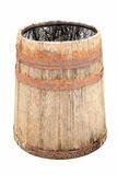 Isolated Old wooden barrel for water Stock Photos