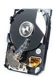 Isolated open Hard Drive Stock Image