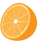 Isolated orange Stock Photo