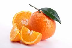Isolated orange Stock Images