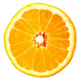 Isolated orange Royalty Free Stock Image