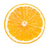 Isolated orange fruit. Stock Images