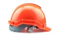 Isolated Orange Helmet for Builder Stock Images