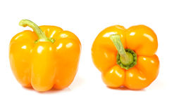 Isolated orange pepper Stock Image