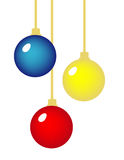 Isolated Ornaments Stock Photography
