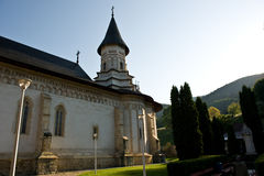 The Bistrita orthodox romanian monastery Royalty Free Stock Photography