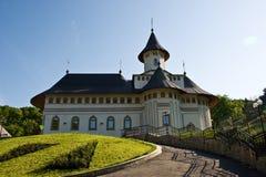 Pangarati orthodox Romanian monastery Stock Image