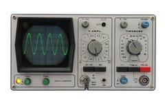 isolated oscilloscope Στοκ Φωτογραφίες
