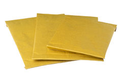 Isolated padded envelopes Royalty Free Stock Photo